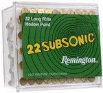 REMINGTON .22 38gr HP SUBSONIC
