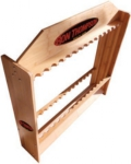 Ron Thompson Wooden 24 Rod Stand