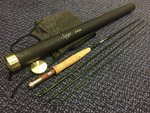 Preloved Sage Z-Axis 9ft #5 4pc Custom Build Fly Rod - Excellent