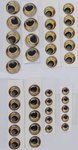 Savage Gear LB Spare Trout Eyes Kit 40pc