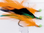 Sema 3 Hook Feather Trace Yellow Black