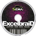 Sema Excelbraid Catfish Dark Green