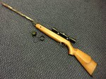 Preloved SMK Model 20M .22 Air Rifle with Scope - Used