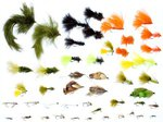 Stillwater 50x Assorted Flies