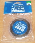Stillwater 7 Strand Pike Wire 20m + 50pc Crimps