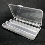 Stillwater Crystal Tube Fly Box 3 Compartments
