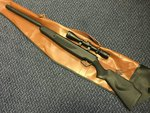Preloved Stoeger X20S Synthetic .22 Air Rifle with Scope and Bag - Excellent