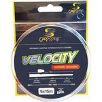 Carp Spirit Velocity Tapered Leader 5X15m