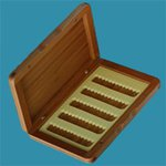 Turrall Slim Bamboo Fly Box
