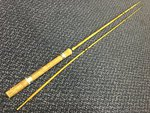 Vintage Preloved - 8ft Bamboo Fishing Rod (Restoration Project) - Used