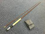 "Vintage Preloved - ""Boy Wallop"" 8''6' #6 Glass Fly Rod - Excellent"