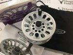 Preloved Vision Deep #7/8 White Fly Reel (Boxed) - Used