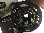 Vision Preloved - GT Stealth Custom #6/7 'Tinseli' Fly reel (Boxed) - As New