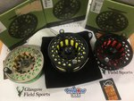 Vision Preloved - Koma #11/12 Salmon Fly Reel with 2 Spare Spools (Boxed) - Used