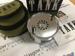 Vision Preloved - Tank No.4 #10/11 Salmon Fly Reel (Boxed) - Excellent
