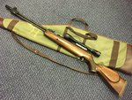 Preloved Webley Eclipse MK1 .22 Air Rifle with Scope and Bag - Excellent