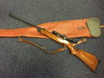 Preloved Webley Hawk MK1 .22 Air Rifle with Scope and Bag - Used