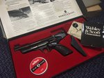 Preloved Webley Hurricane .22 Air Pistol Boxed with Papers - Used