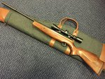 Preloved Webley Longbow .22 Air Rifle with Scope and Silencer - Used