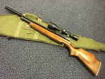Preloved Webley Raider 10 .177 Air Rifle with Scope Silencer and Bag - Excellent