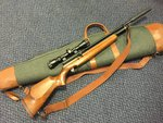 Preloved Webley Raider 2 Shot .22 Air Rifle with Scope, Bag, Sling & Silencer - Used