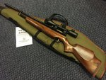 Preloved Webley Raider 2 Shot .22 Air Rifle with Scope Silencer and Bag - As New