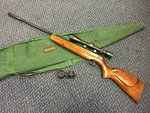 Preloved Webley Stingray .22 Air Rifle with Scope and Bag - Used