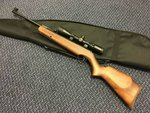 Preloved Webley Xocet .22 Air Rifle with Scope and Bag - Excellent