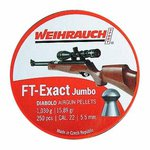 Weihrauch FT Exact Jumbo Diablo Airgun Pellets .22 250pc