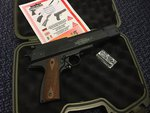 Preloved Weihrauch HW45 .22 Air Pistol with Hard Case - As New