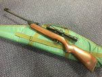 Preloved Weihrauch HW99S .22 Air Rifle with Scope and Bag - Used