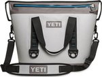 Yeti Hopper Two 30 Fog Grey Soft Cooler