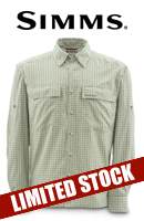 Simms mega sale limited stocks at glasgow angling centre for Fishing shirts that keep you cool