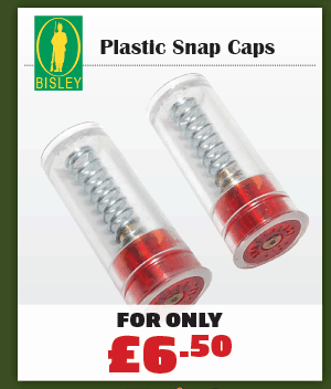 Bisley Snap Caps - Plastic