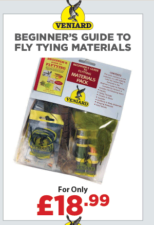 Veniard Beginner's Guide to Fly Tying Materials Pack