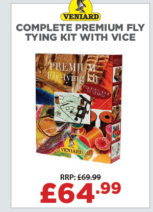 Veniard Complete Premium Fly Tying Kit with Vice