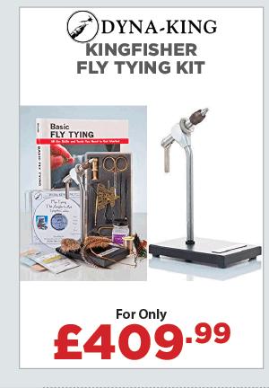 Dyna-King Kingfisher Fly Tying Kit
