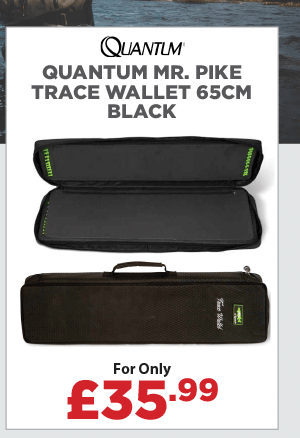 Quantum Mr. Pike Trace Wallet 65cm Black