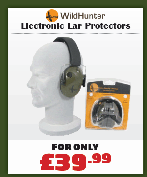 Wildhunter Electronic Ear Protectors