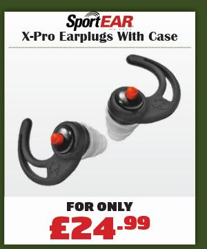 Sportear X-Pro Earplugs With Case