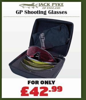 Jack Pyke GP Shooting Glasses
