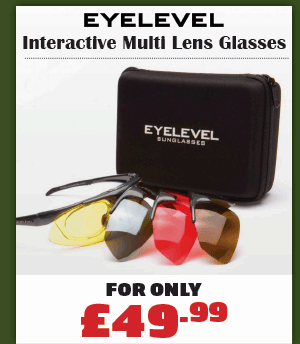 Eyelevel Interactive Shooting Interchangeable Lens Shooting Glasses