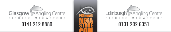 Glasgow Angling Centre - Free Shipping With all orders over £50 - UK Mainland Only