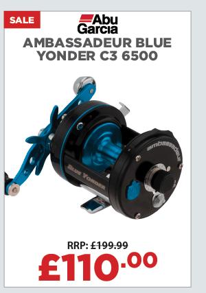 Abu Garcia Ambassadeur Blue Yonder C3 6500 Multiplier Reel