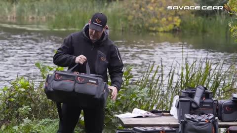 Angelkoffer & -boxen Savage Gear System Box Bag L
